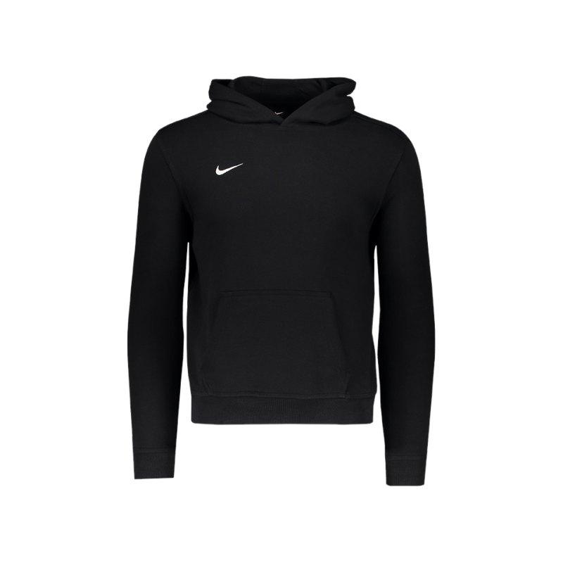 Nike Team Club Hoody Kids F010 Schwarz - schwarz