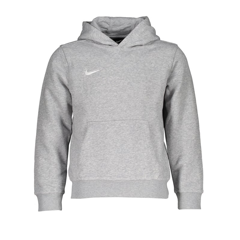Nike Team Club Hoody Kids F050 Grau - grau