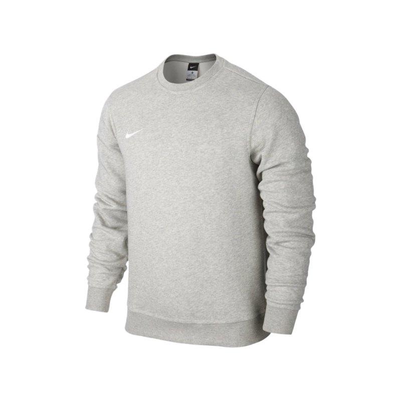 Nike Crew Sweatshirt Team Club Kinder F050 Grau - grau