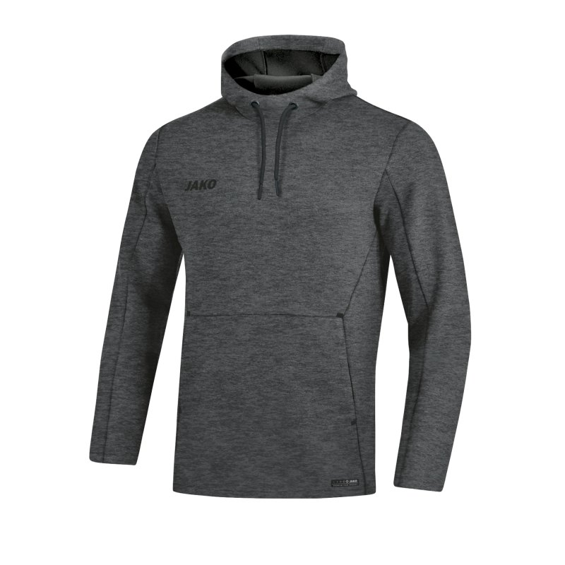 Jako Premium Basic Kapuzensweatshirt Grau F21 - grau