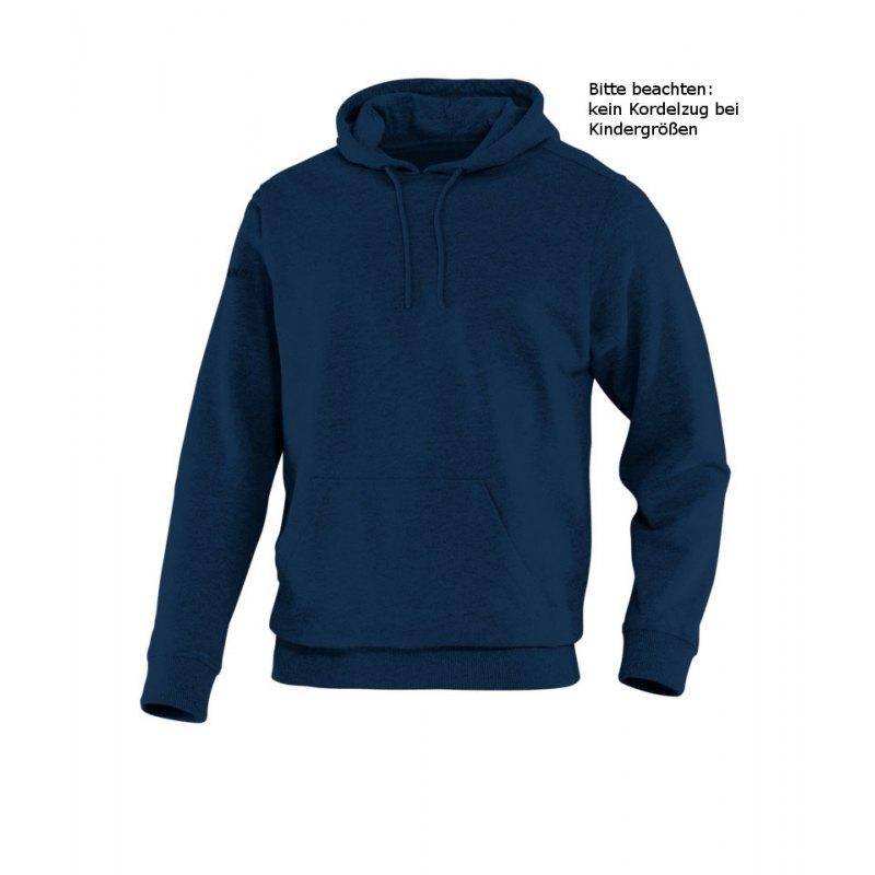 Jako Hoody Team Kapuzensweat Kinder Dunkelblau F09 - blau