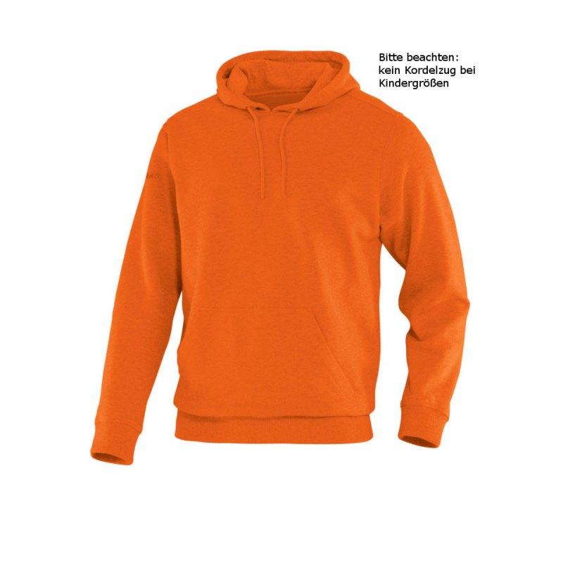 Jako Hoody Team Kapuzensweat Kinder Orange F19 - orange