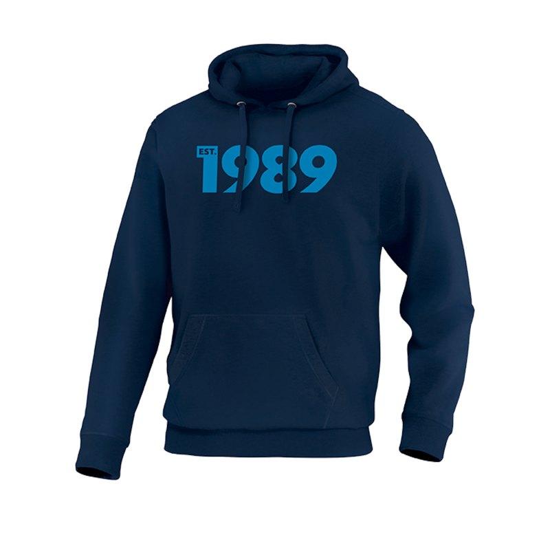 JAKO Base 1989 Hoody Blau F09 - blau