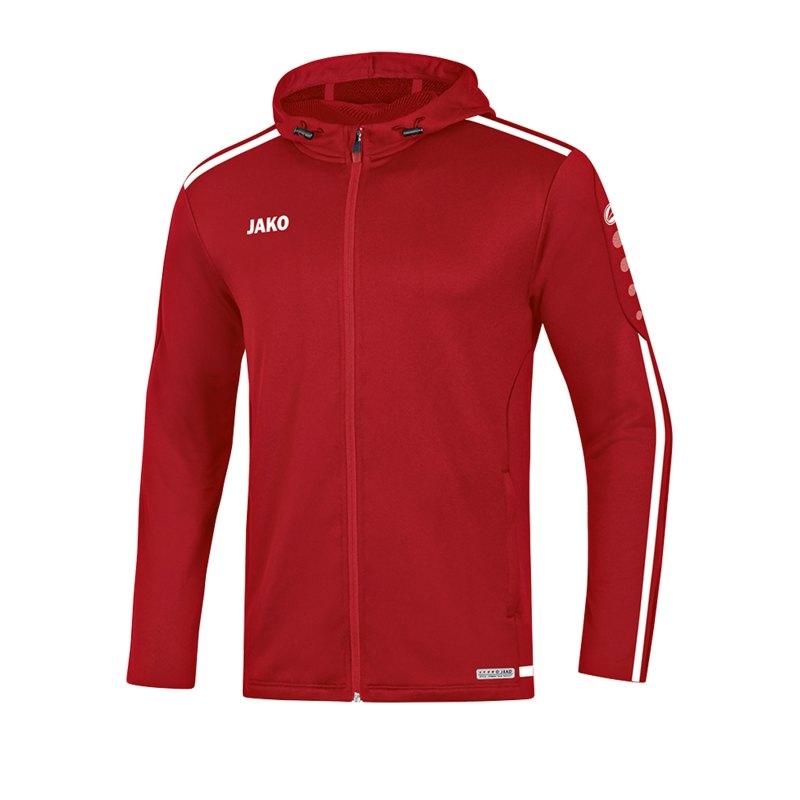 Jako Striker 2.0 Kapuzenjacke Damen Rot Weiss F11 - Rot