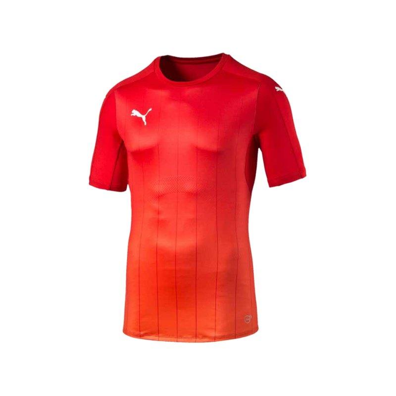 PUMA Thermo-R ACTV T-Shirt PUMA Rot F01 - rot
