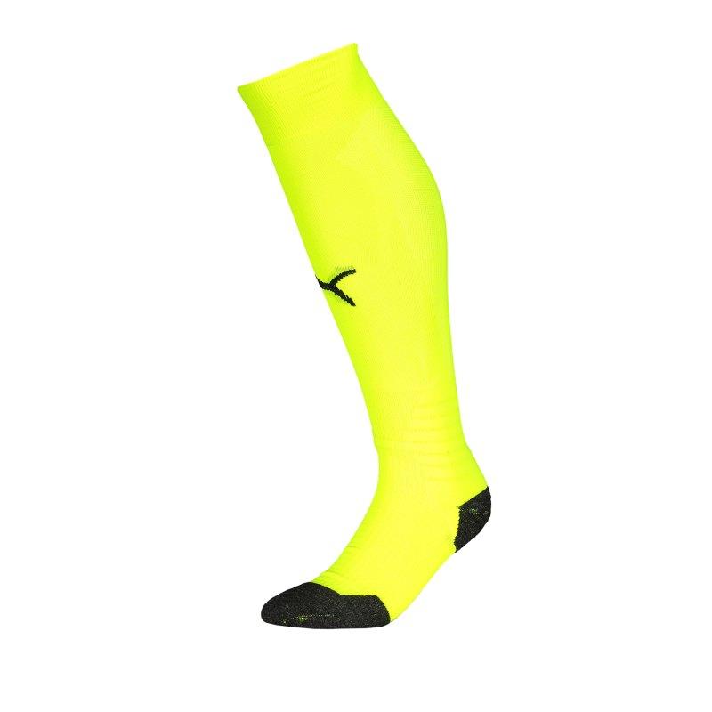 PUMA LIGA Socks Stutzenstrumpf Gelb Schwarz F30 - gelb