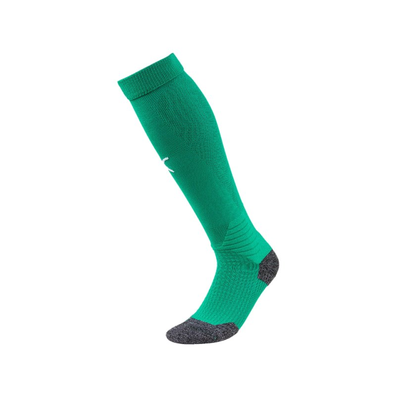 PUMA LIGA Socks Stutzenstrumpf Grün Weiss F05 - gruen