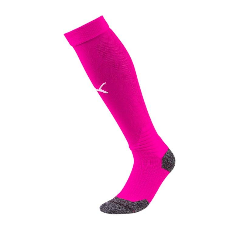 PUMA LIGA Socks Stutzenstrumpf Lila Weiss F41 - Lila