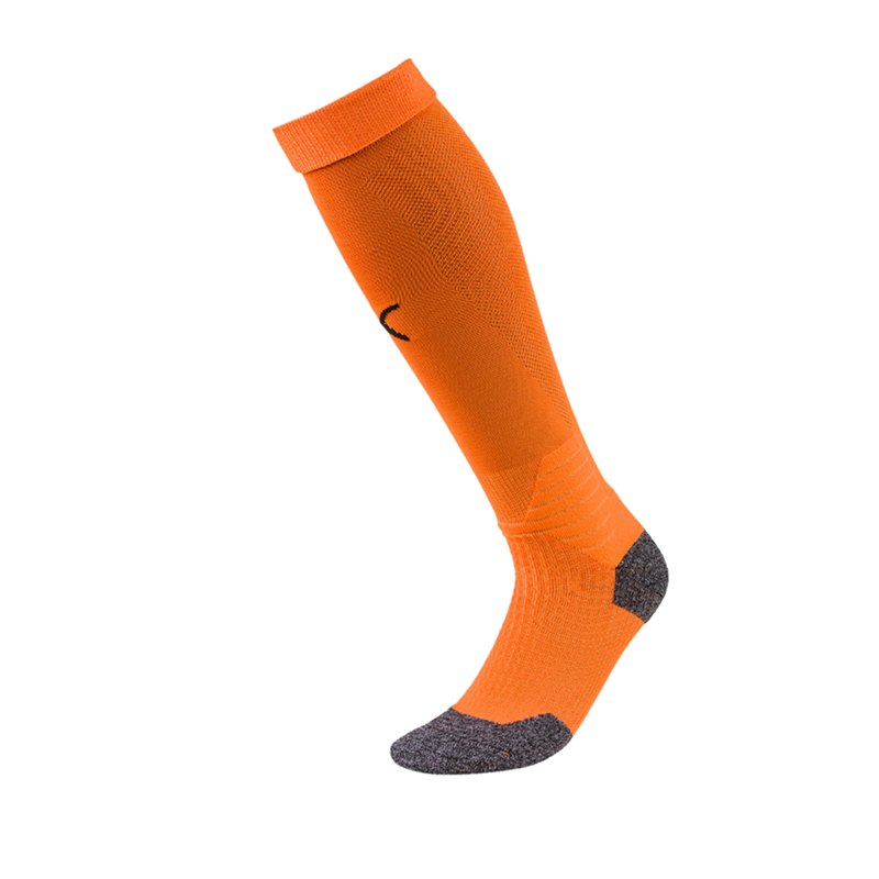 PUMA LIGA Socks Stutzenstrumpf Orange Schwarz F08 - orange
