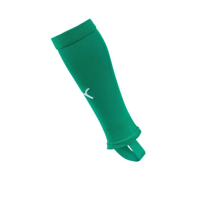 PUMA LIGA Stirrup Socks Core Stegstutzen Grün F05 - gruen