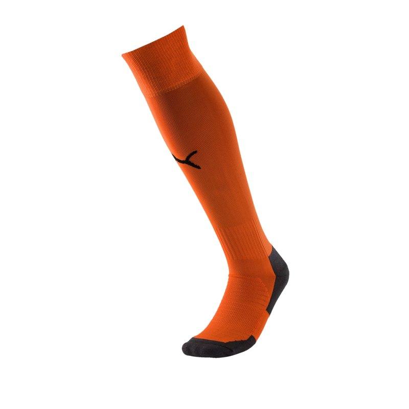 PUMA LIGA Socks Core Stutzenstrumpf Orange F08 - orange