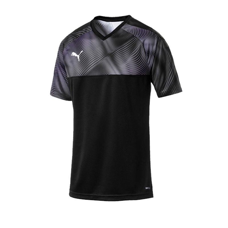 PUMA CUP Jersey Trikot kurzarm Schwarz F03 - schwarz