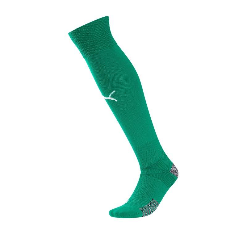 PUMA teamFINAL 21 Socks Stutzenstrümpfe Grün F05 - gruen