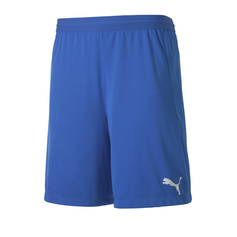 PUMA teamFINAL 21 Knit Short Blau F02 - blau