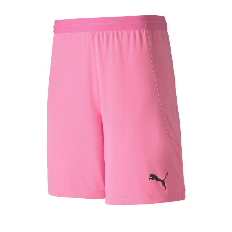 Puma teamFINAL 21 Knit Short Pink F22 - pink