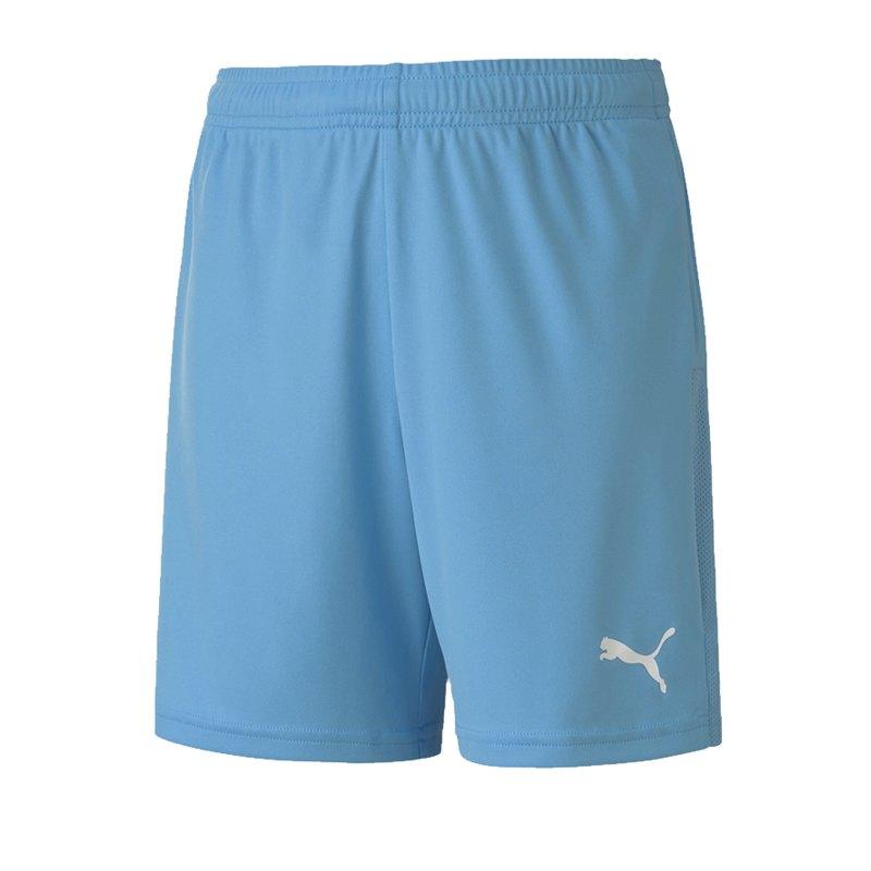 PUMA teamGOAL 23 Knit Short Kids Hellblau F18 - blau