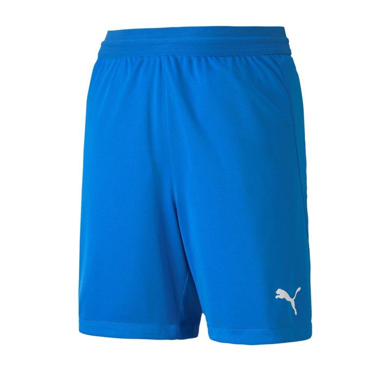 PUMA teamFINAL 21 Knit Short Kids Blau F02 - blau