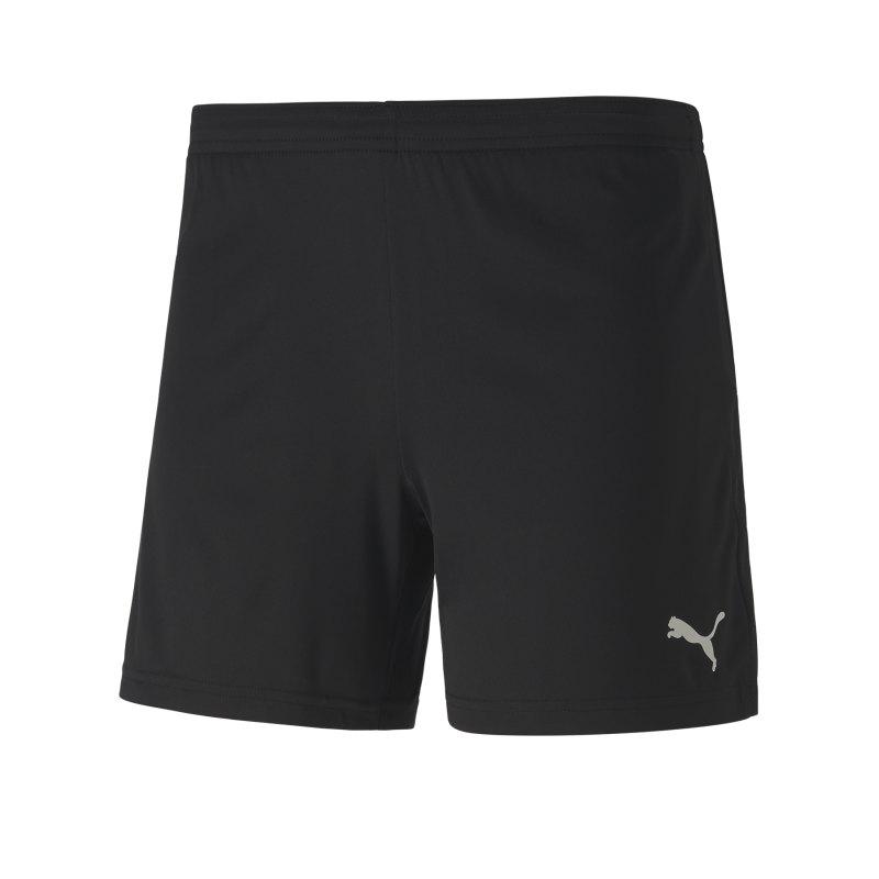 PUMA teamGOAL 23 Knit Shorts Damen Schwarz F03 - schwarz