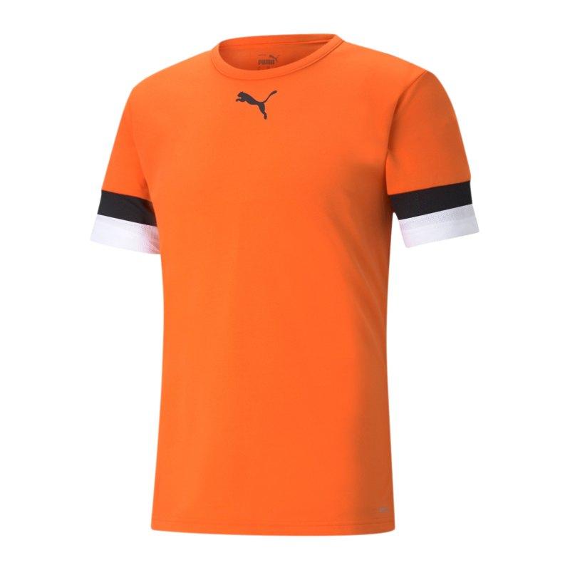 PUMA teamRISE Trikot Orange F08 - orange