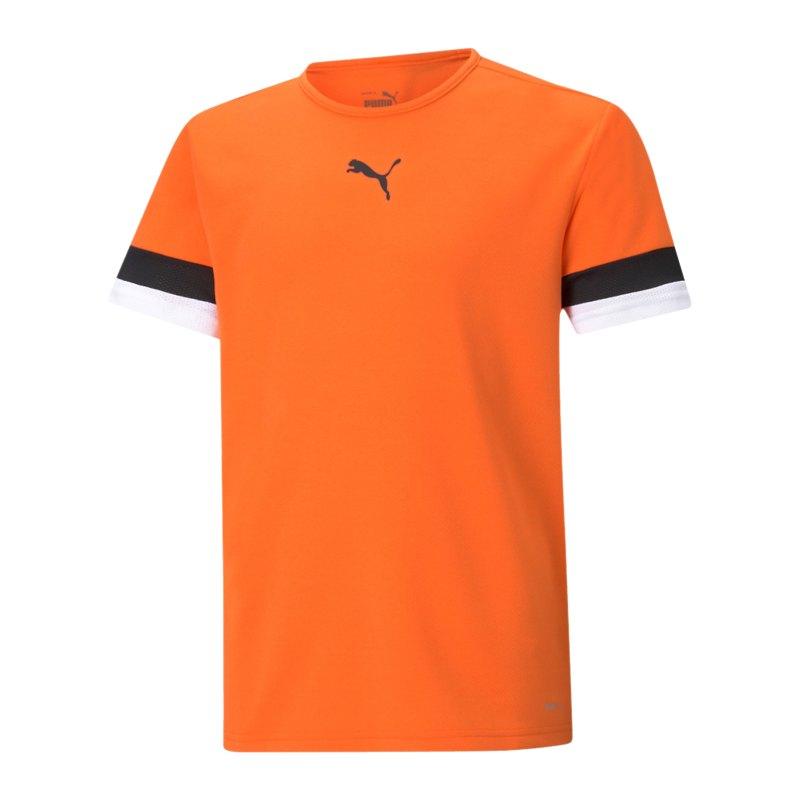 PUMA teamRISE Trikot Kids Orange F08 - orange