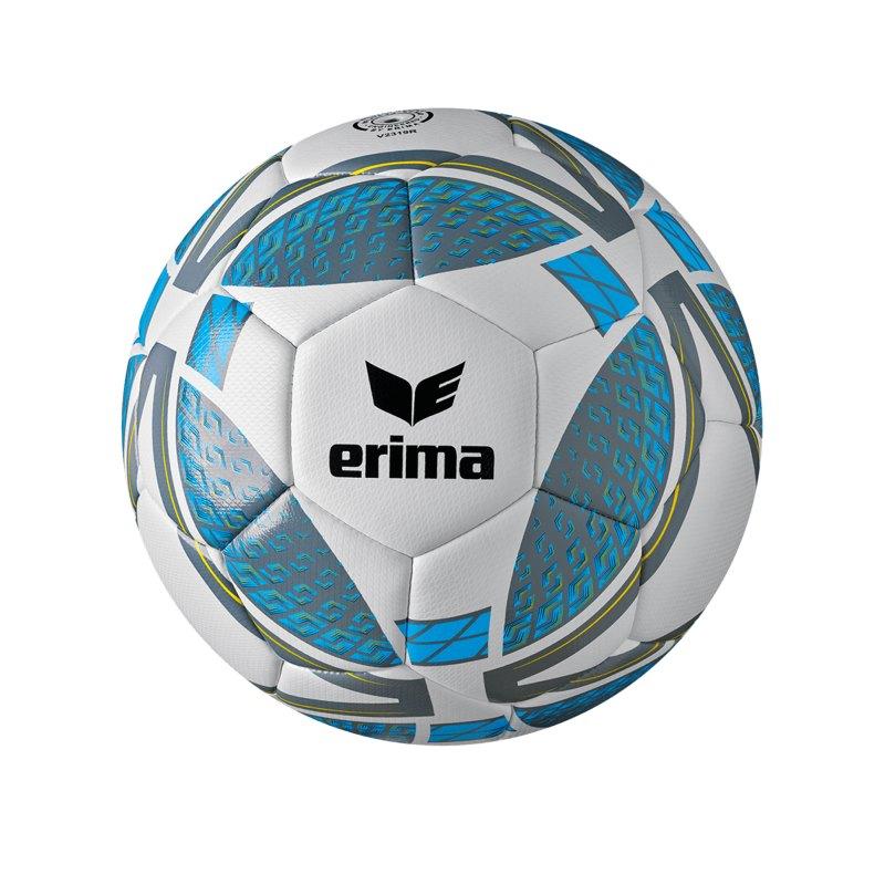 Erima Senzor Lightball 290 Gramm Gr. 5 Grau Blau - grau