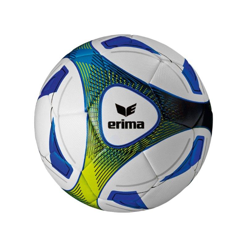 Erima Trainingsball Hybrid Blau Gelb - blau