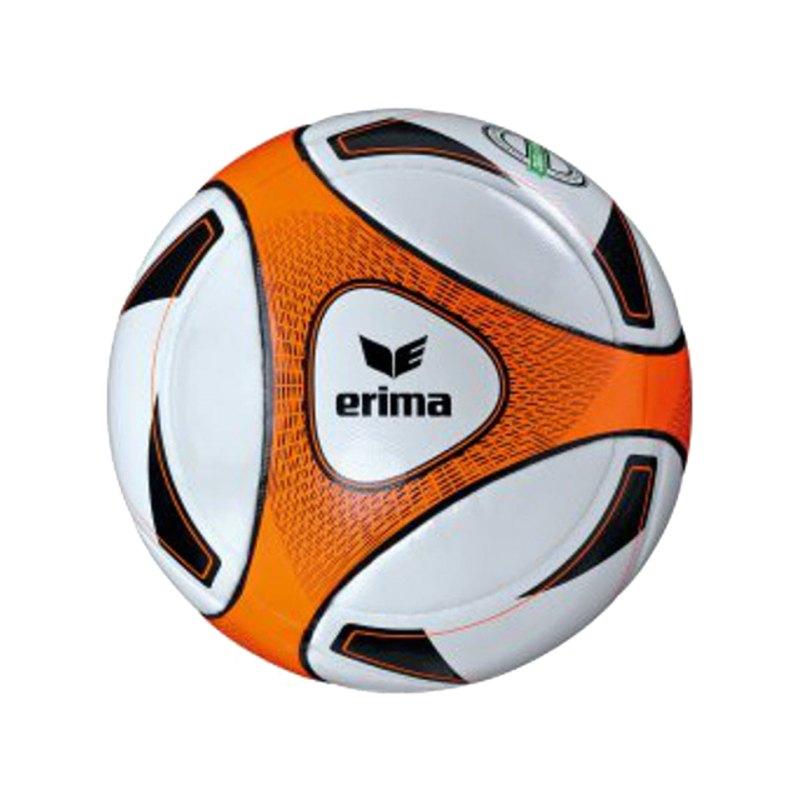 Erima Spielball Hybrid Match Weiss Orange - weiss