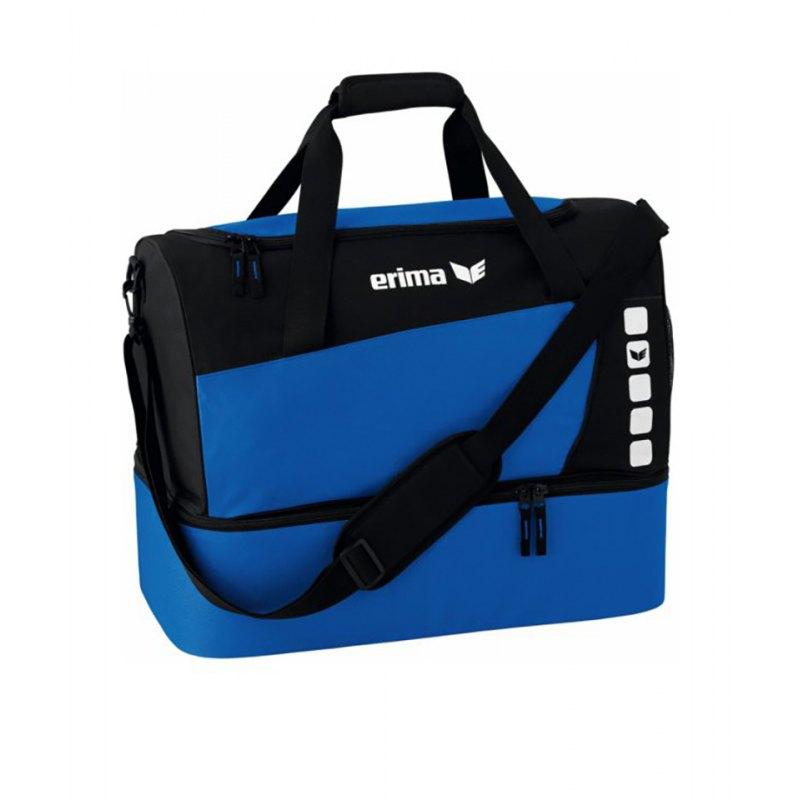 Erima Sporttasche mit Bodenfach Club 5 Blau Gr. M - blau