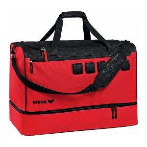 Erima Tasche 5-Cubes mit Bodenfach Gr. M Rot - rot