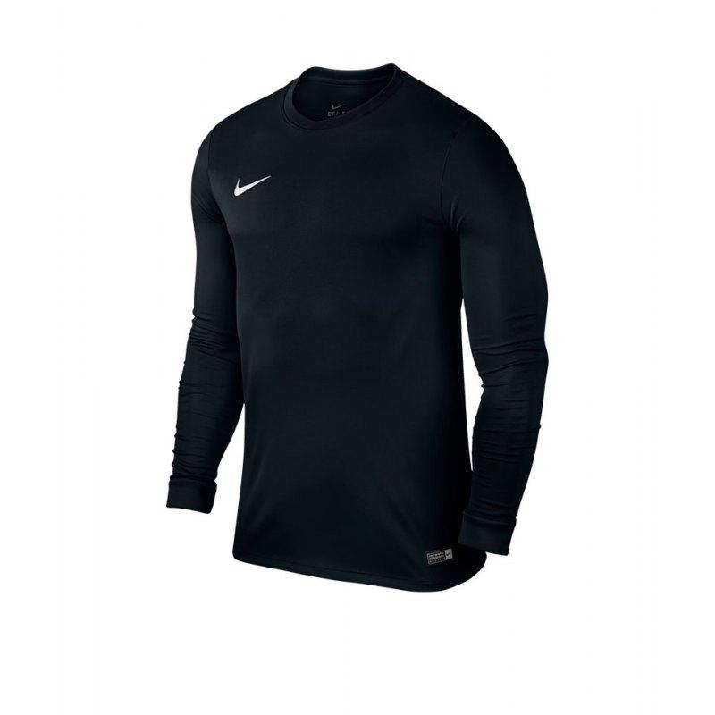 Nike Langarm Trikot Park VI F010 Schwarz - schwarz