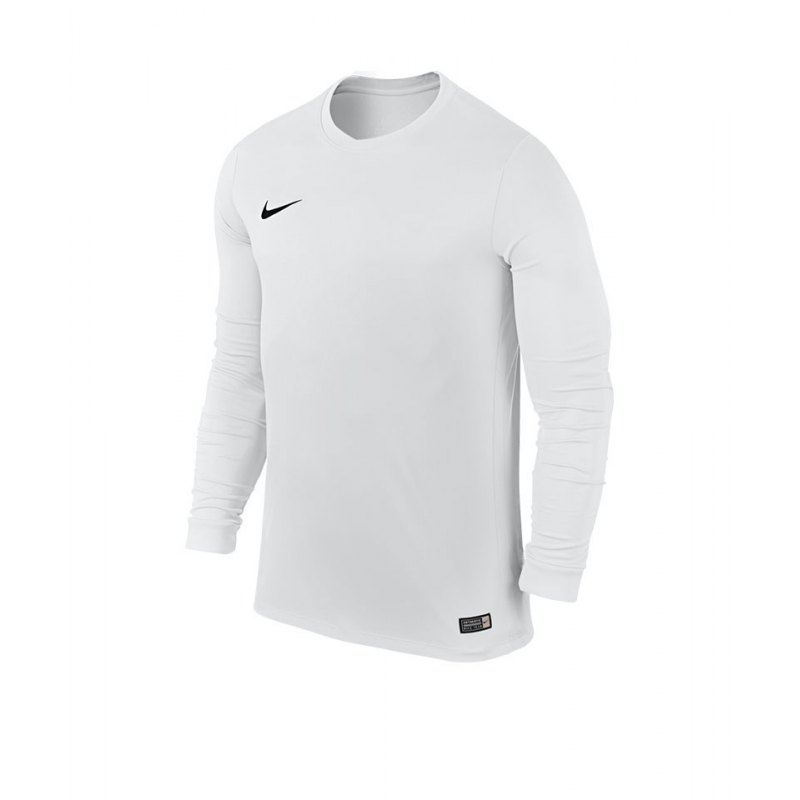 Nike Langarm Trikot Park VI F100 Weiss - weiss
