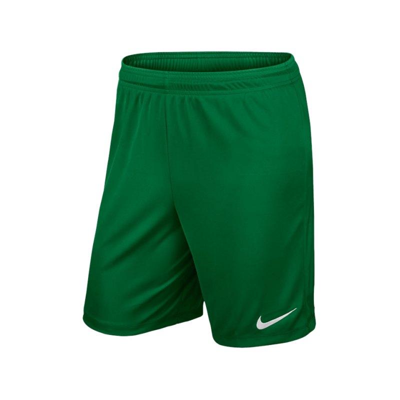 Nike Short ohne Innenslip Park II F302 Grün - gruen