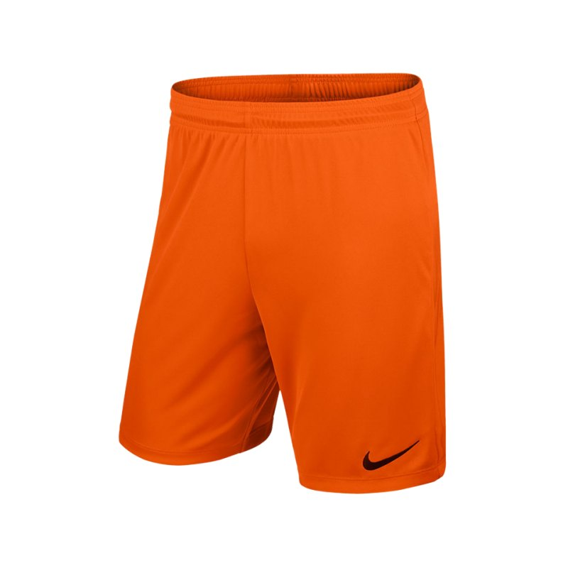 Nike Short ohne Innenslip Park II F815 Orange - orange