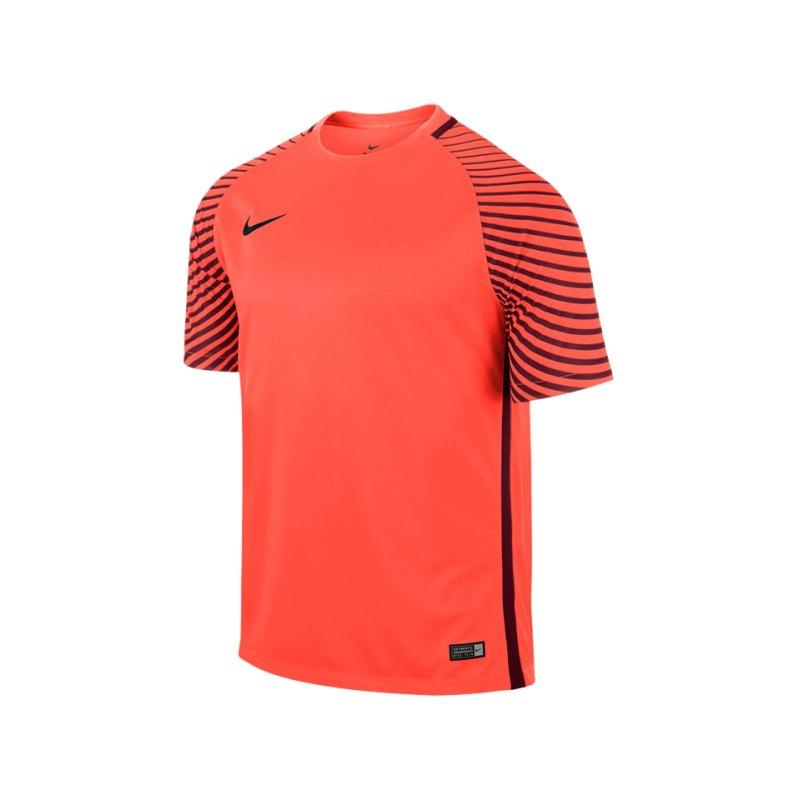 Nike Kurzarm Trikot Gardien F671 Orange - orange