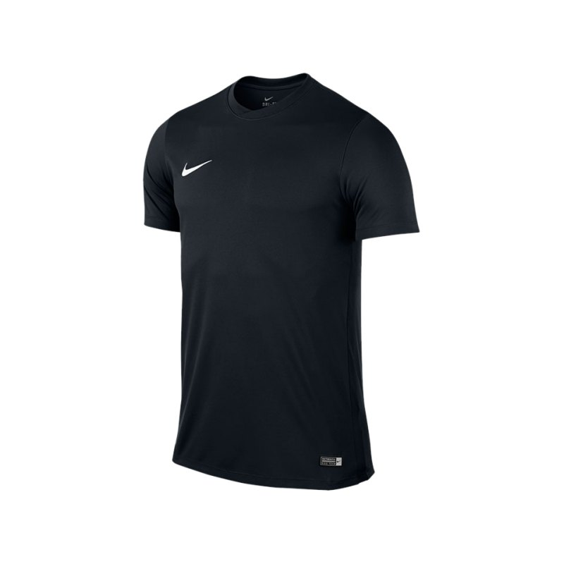 Nike Kurzarm Trikot Park VI F010 Schwarz - schwarz