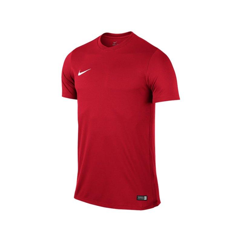 Nike Kurzarm Trikot Park VI F657 Rot - rot