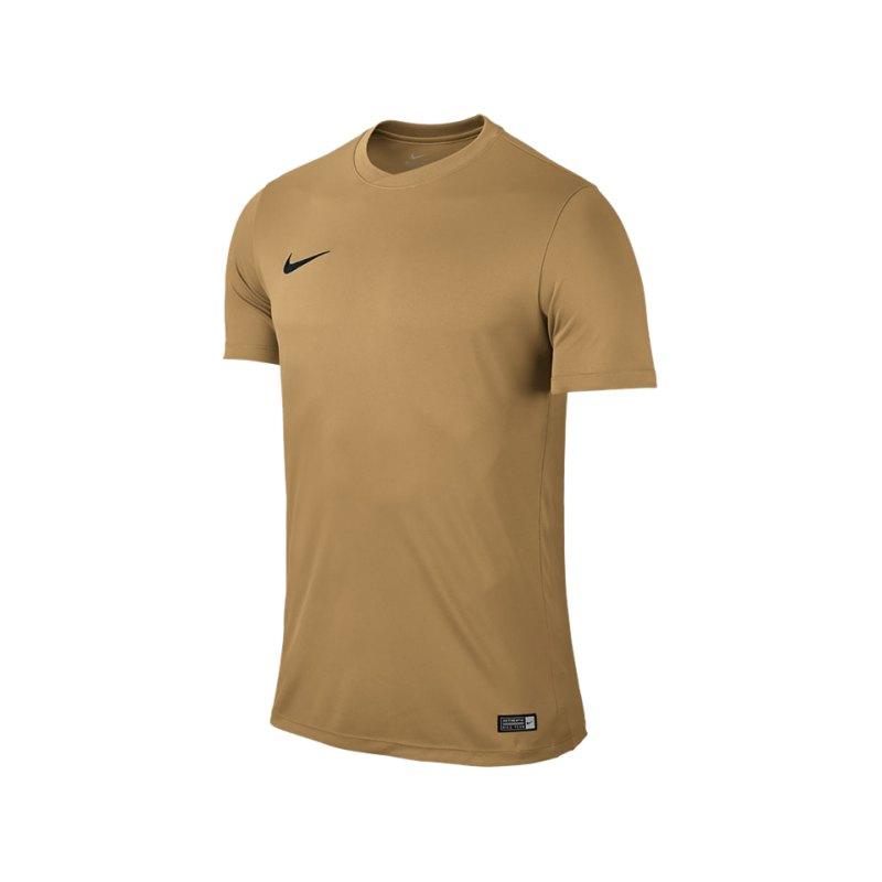 Nike Kurzarm Trikot Park VI F738 Gold - gold