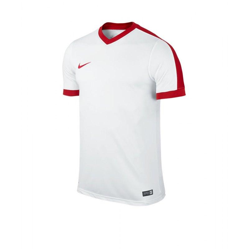 Nike Kurzarm Trikot Striker IV F101 Weiss Rot - weiss