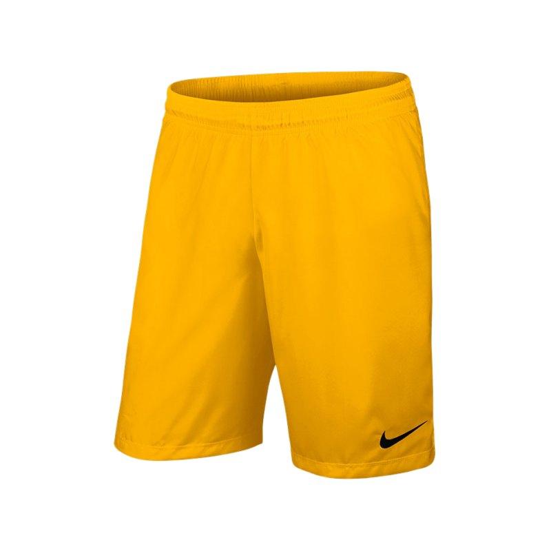 Nike Short ohne Innenslip Laser III F739 Gelb - gelb
