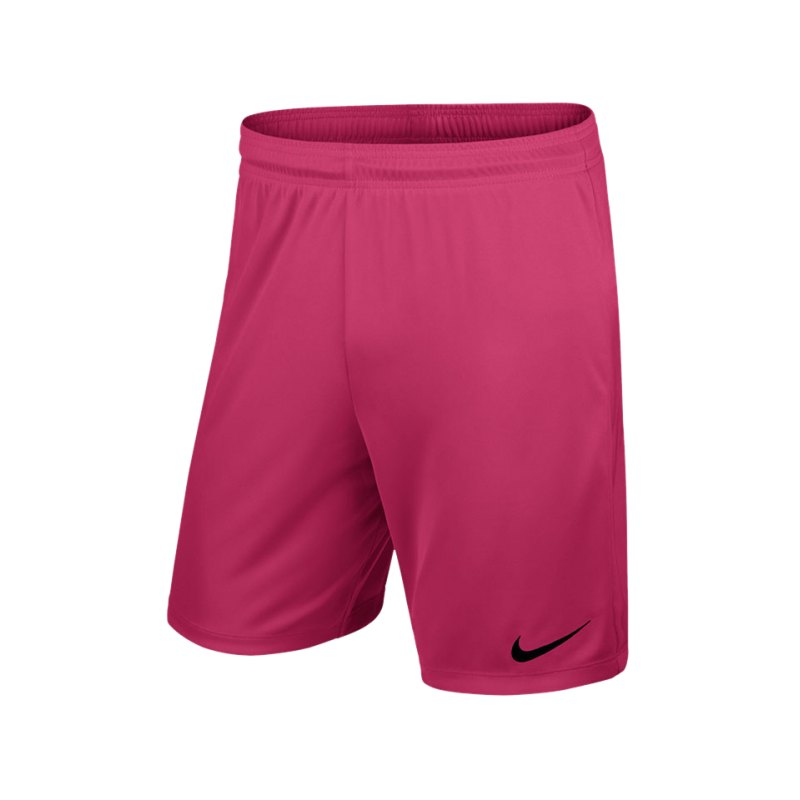 Nike Short mit Innenslip Park II F616 Pink - pink