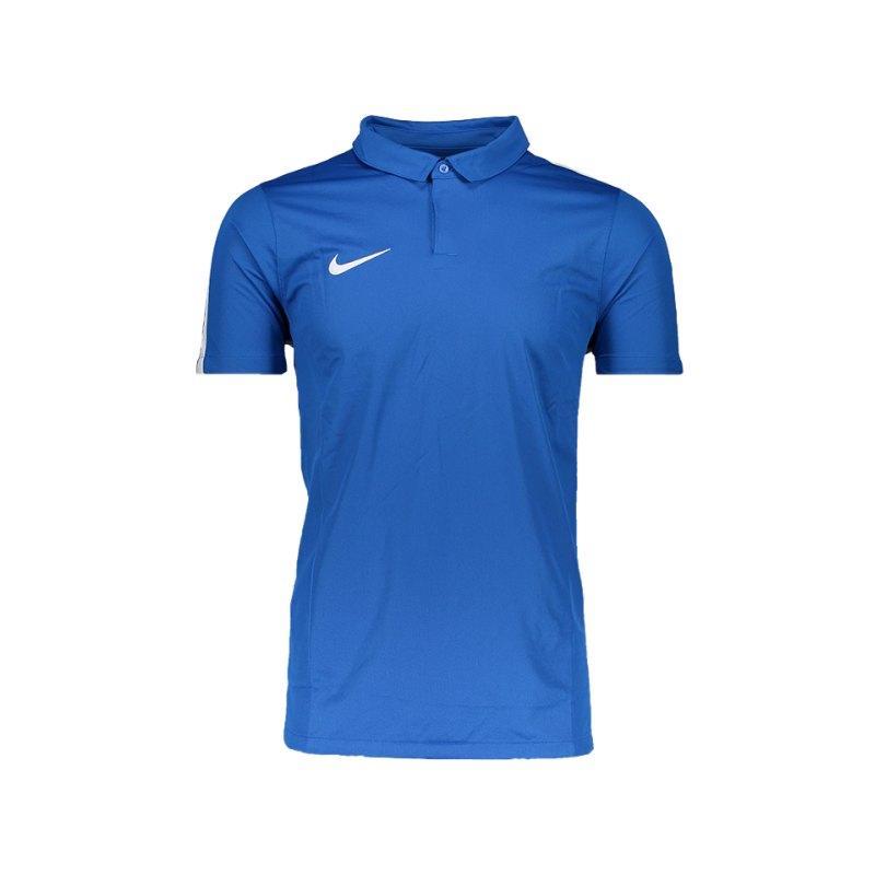 Nike Poloshirt Squad 17 Blau F463 - blau