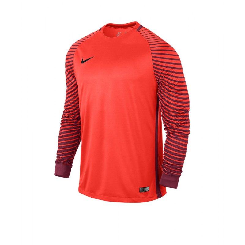 Nike Langarm Trikot Gardien Kinder F671 Orange - orange