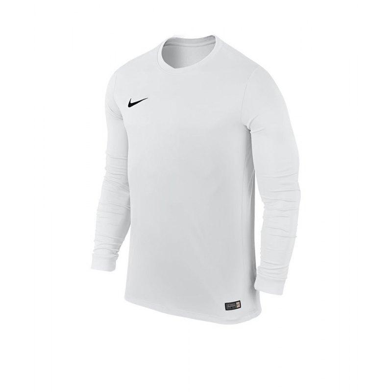 Nike Langarm Trikot Park VI Kinder F100 Weiss - weiss