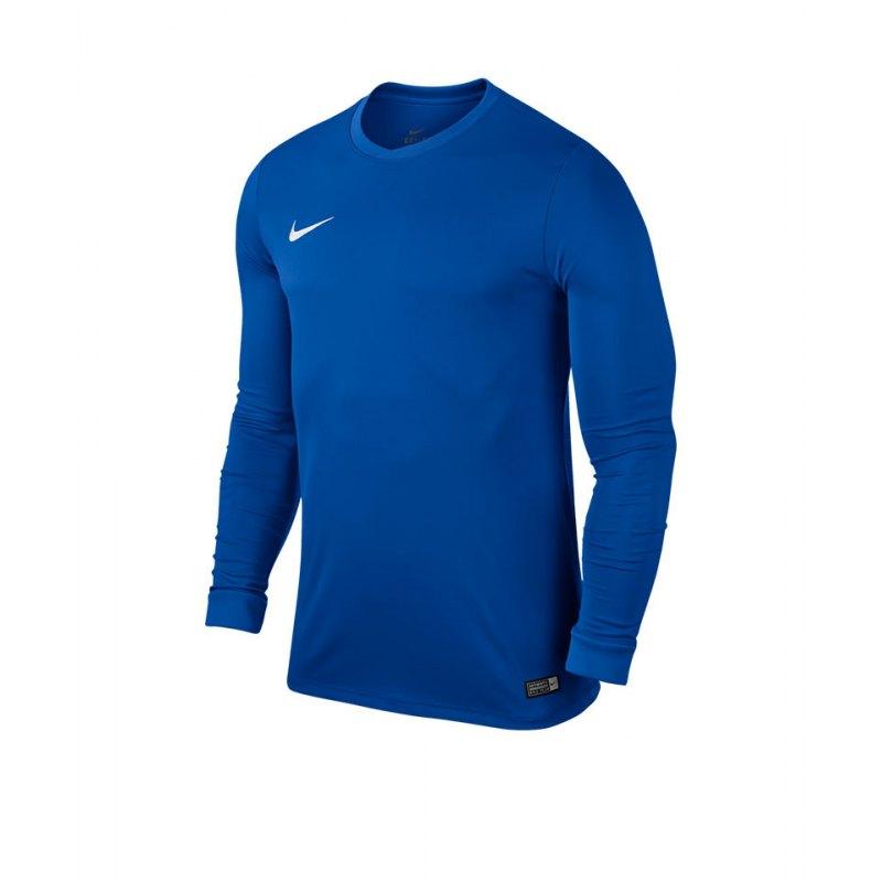 Nike Langarm Trikot Park VI Kinder F463 Blau - blau