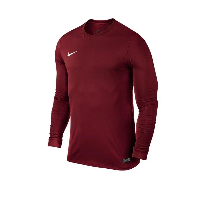 Nike Langarm Trikot Park VI Kinder F677 - rot