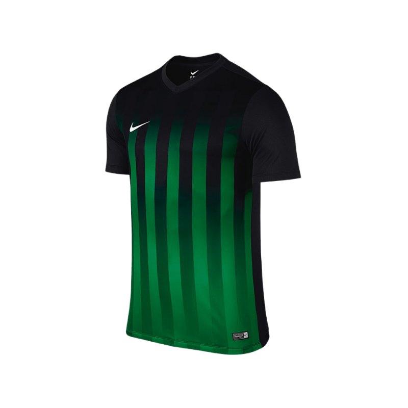Nike KA Trikot Striped Division II Kinder F013 - schwarz