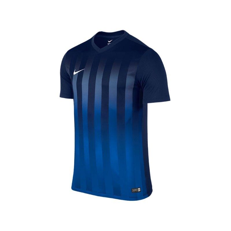 Nike KA Trikot Striped Division II Kinder F410 - blau