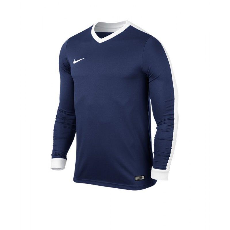 Nike Langarm Trikot Striker IV Kinder F410 Blau - blau
