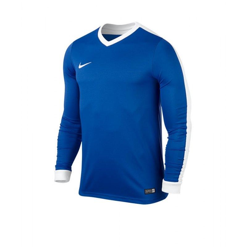 Nike Langarm Trikot Striker IV Kinder F463 Blau - blau