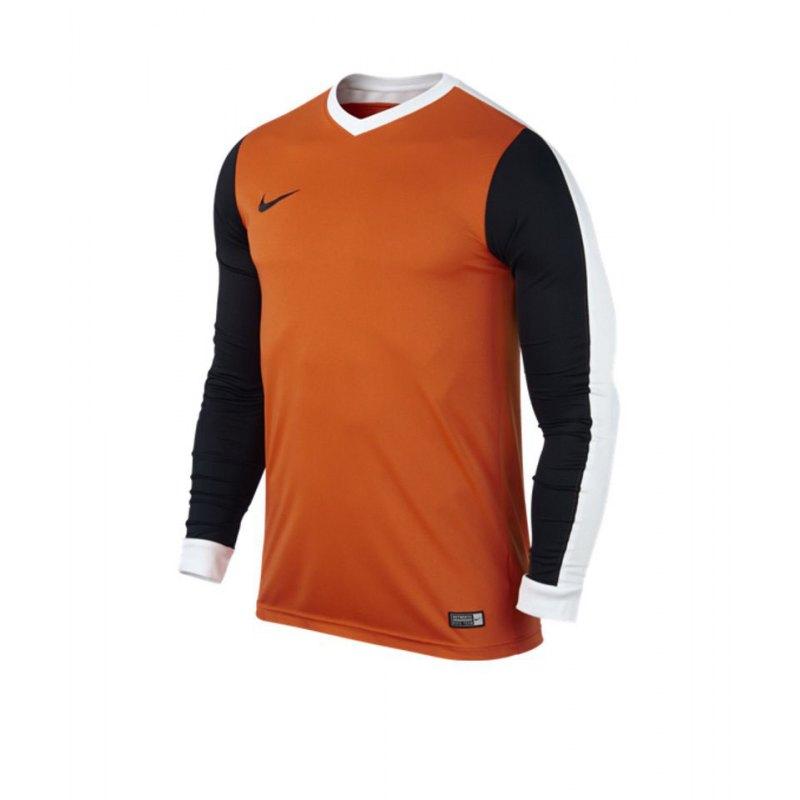 Nike Langarm Trikot Striker IV Kinder F815 Orange - orange